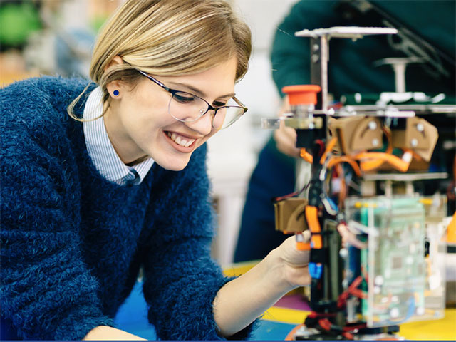 Robotics Scrimmage at CCC