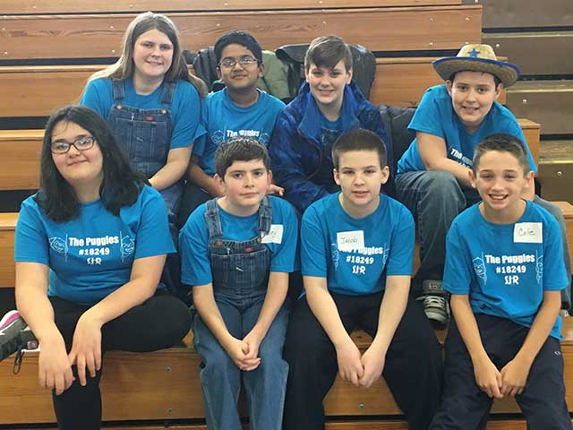Congratulations to South Jersey Robotics FLL Team The Puggles 18249!