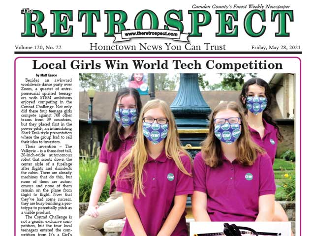 Local Girls Win World Tech Competition