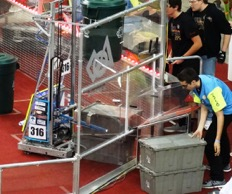 Zack loading robot