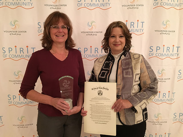 Bob Shyrock Community Service Award 2016