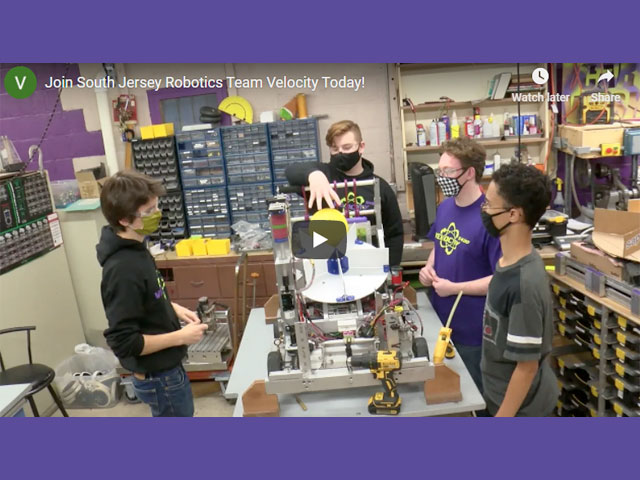 Join South Jersey Robotics Team Velocity Today!