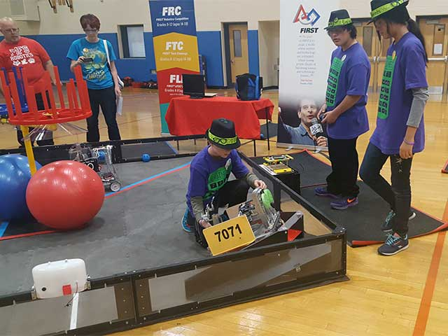 SJR FTC Team Competition